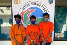 Bawa 30 Kg Ganja, 3 Pria Diamankan Polres Taput