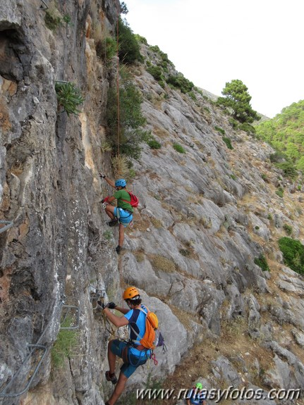 Via Ferrata de Igualeja
