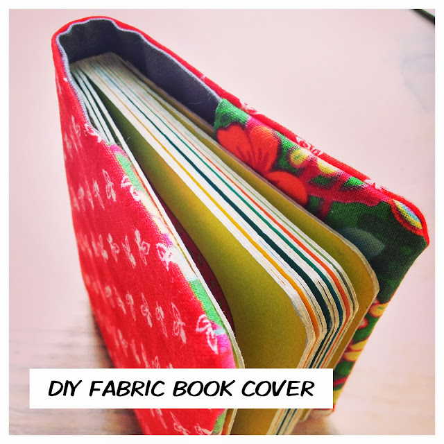 Diy Fabric Book Cover ~ Rie copenhagen diy fabric book cover