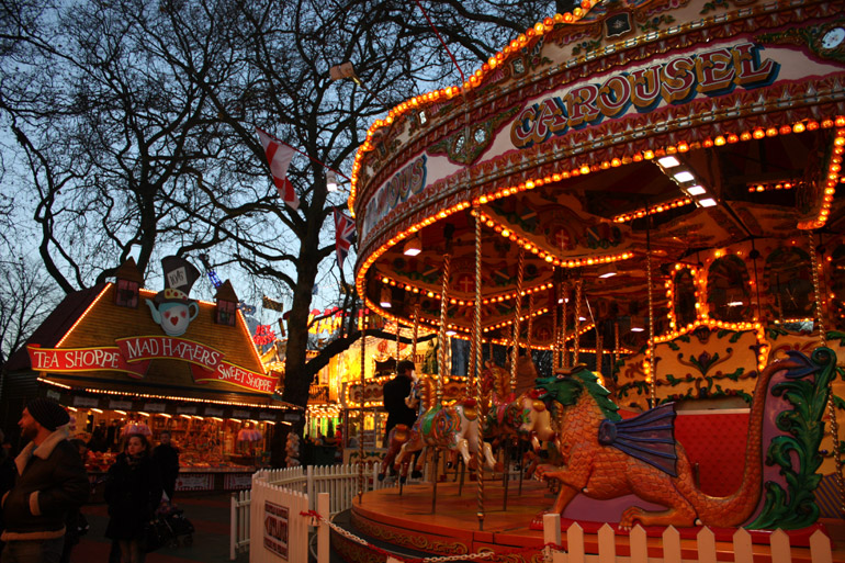 carousel hyde park winter wonderland