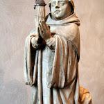 Bourgogne - Abbé (albâtre, seconde moitié du 15e siècle)