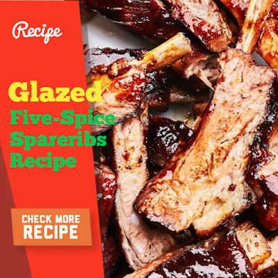 Glazed five-spice spareribs and Country Round Steak Recipe