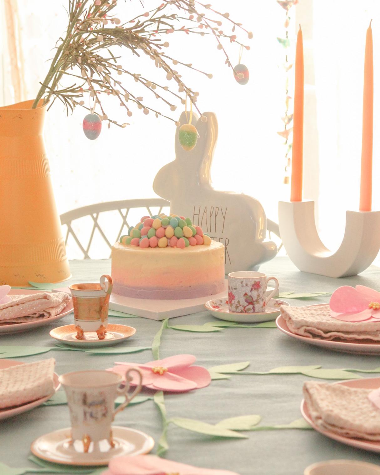 Primavera, pascua y mucha azúcar.