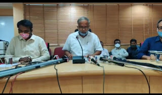 Use this link to watch live coverage of the Honorable Shri Suresh Kumara's press conference on SSLC Science Exam 2020 held today on 29-06-2020