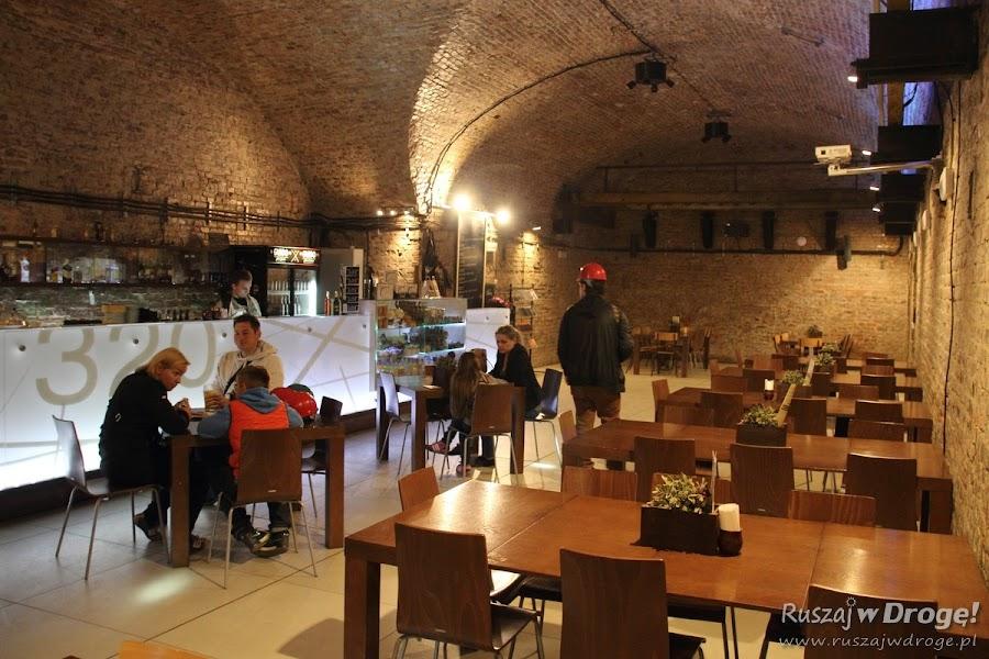 Kopalnia Guido w Zabrzu - sala w podziemnym pubie