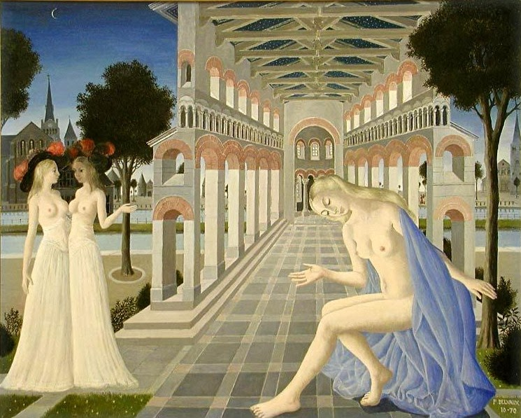 Paul Delvaux - Gallery