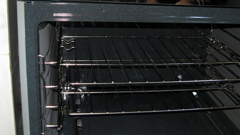 Auto-slide oven racks, previous oven