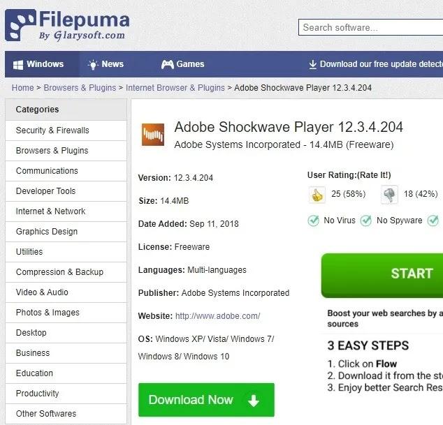مواقع التحميل الآمن Filepuma