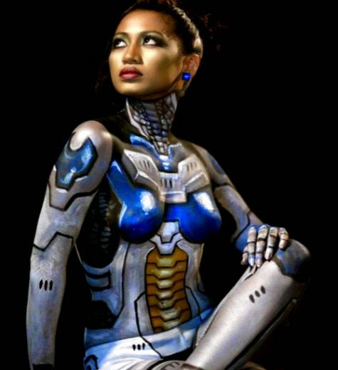 30 Examples of Astonishing Body Paint Art  Naldz Graphics