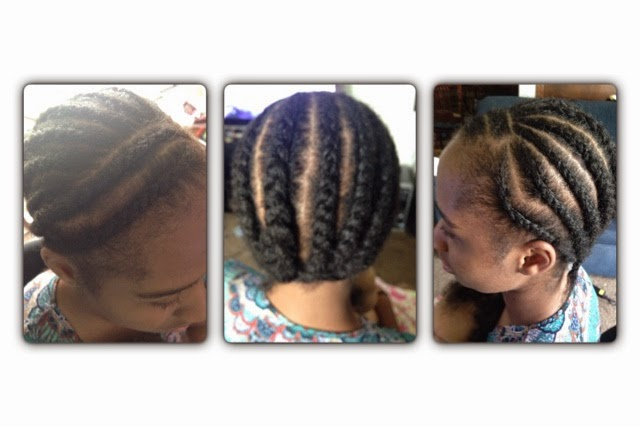 Crochet Hair Process : braiding pattern for crochet braids crochet braids process