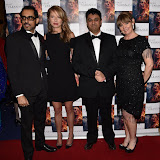 OIC - ENTSIMAGES.COM - Ashwath Bhatt, Holly Gilbert , Director Rajan Kumar Patel and Producer Caroline O'Reilly at the  : Feast of Varanasi  UK film premiere during the London Asian Film Festival 5th March 2016 Photo Mobis Photos/OIC 0203 174 1069