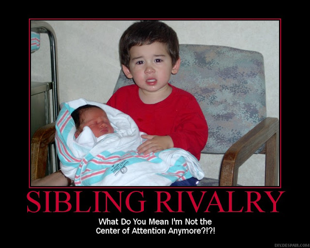 Funny Quotes About Sibling Rivalry. QuotesGram