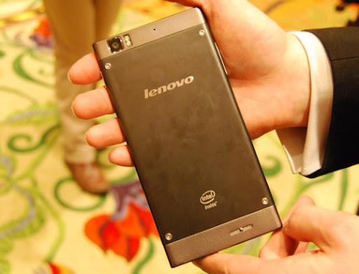 Lenovo K900 Back