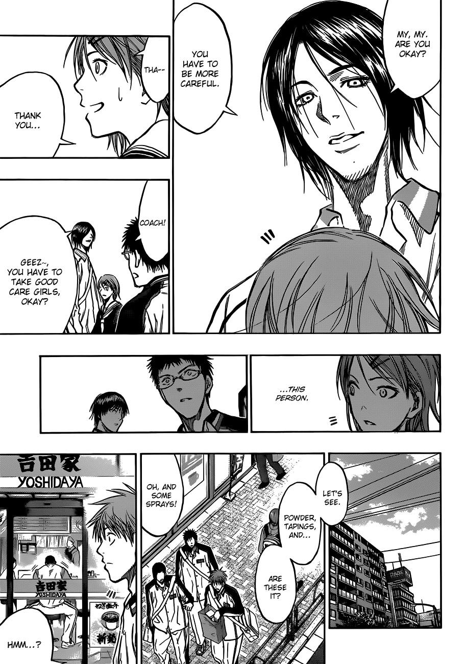 Kuroko no Basket Manga Chapter 174 - Image 09