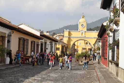 Antigua.  From Hit The Road to Antigua: Top Five Road Trip Destinations of Guatemala