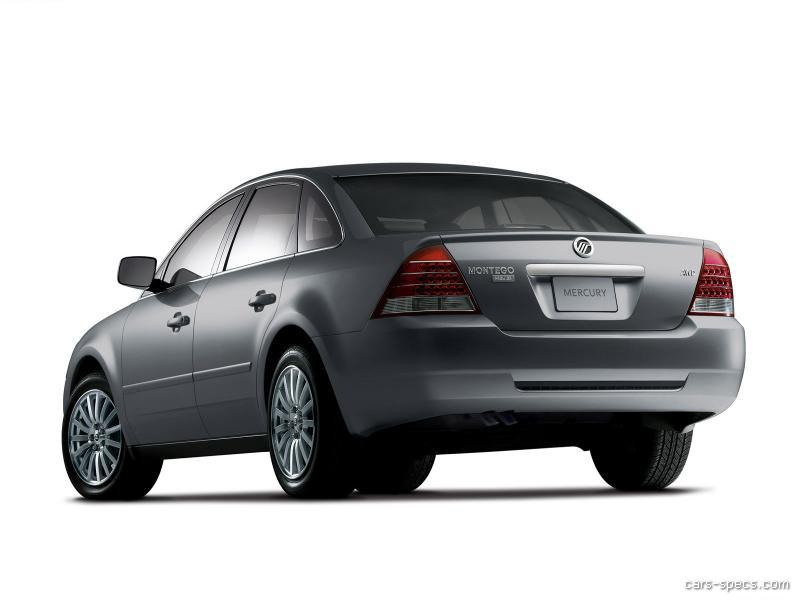 2005 Mercury Montego Sedan Specifications  Pictures  Prices