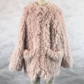 *SALE* Stella McCartney 8yrs Pink Fuzzy Coat