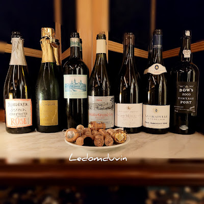 Nice Line up too.. bottles of the night by ©LeDomduVin 2021