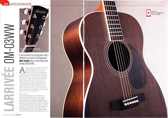 Acoustic OM03WW 560