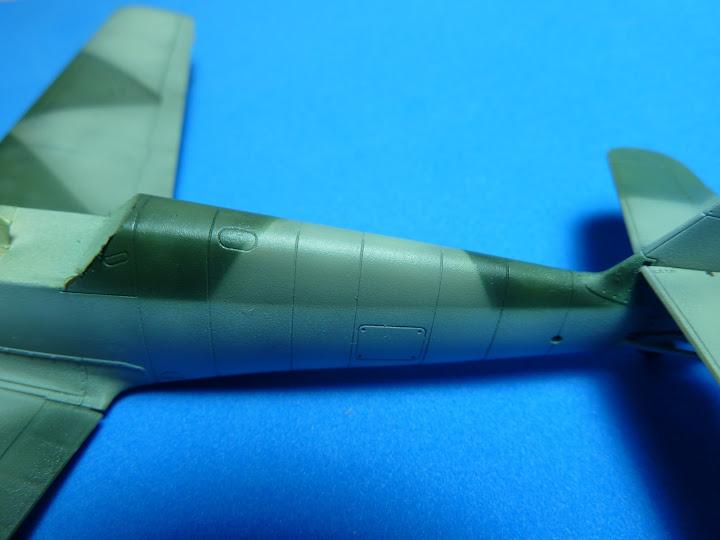 "Messerschmmit Bf 109 E-3 - Major Hans ""Assi"" Hahn P1040036"
