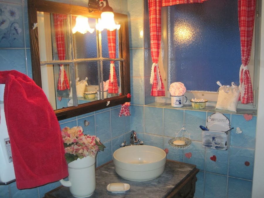 Lavabo Damen-WC nachher