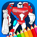 Robots Coloring Pages with Animated Effec 1 APK Herunterladen