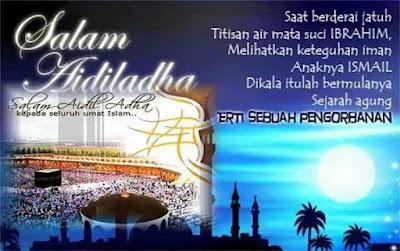 Hari ni Hari Raya Haji!
