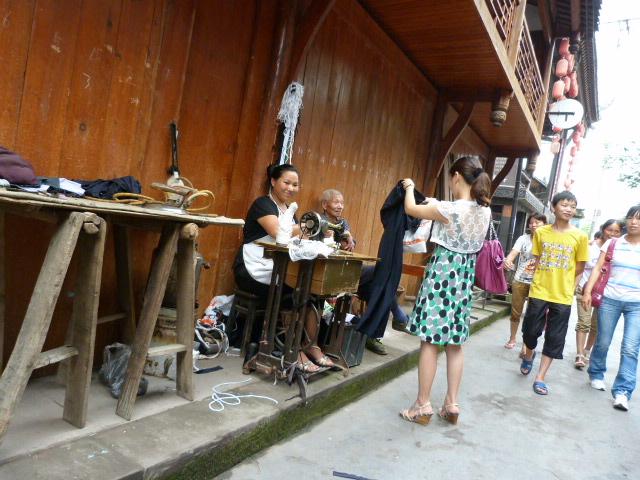 CHINE.SICHUAN.PING LE à 2 heures de Chengdu. Ravissant .Vallée des bambous - P1070487.JPG