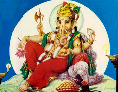 Hindu Deity Ganesha Image