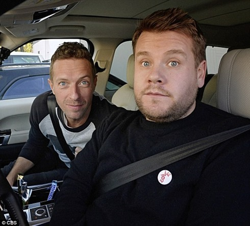 chris martin carpool karaoke coldplay