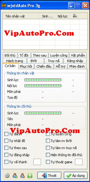 WjxtdAuto Pro Test 3n Phiên Bản 3.0.7 1