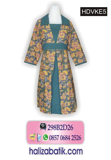 busana masa kini, baju batik online, model batik modern