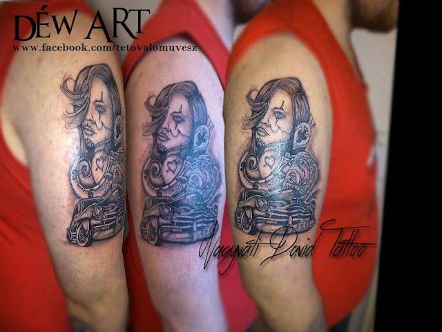 La catrina by Nagyvati David Déw art tattoo szeged