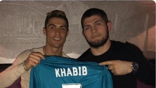 Usai Ngobrol Tatap Muka, Khabib Nurmagomedov Tahu Ketakutan Cristiano Ronaldo - Bolasport.com