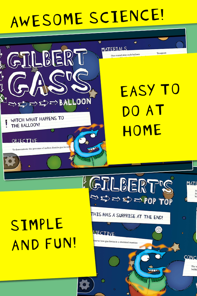 Gilbert Gas Experiments