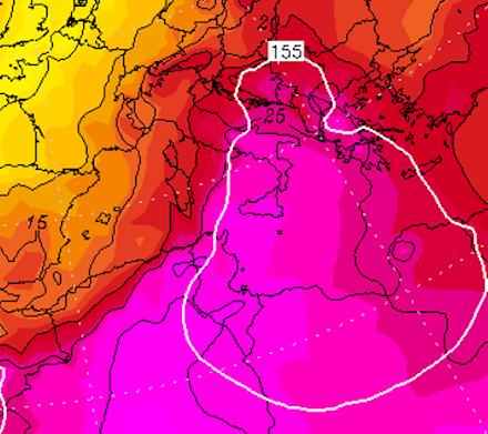 Στους 47 βαθμούς κελσίου αναμένεται να φτάσει η θερμοκρασία στη νότια Ιταλία τις επόμενες ημέρες
