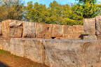 Armour Stone Retaining Wall