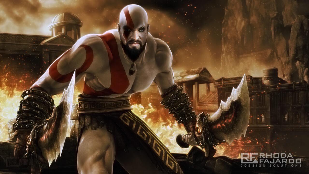 Khal Drogo as Kratos