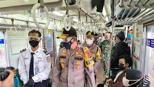 Kapolda Banten Kunjungi Stasiun Kereta Api Daru Tiga Raksa