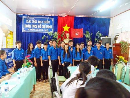 Đại hội đại biểu Đoàn TNCS Hồ Chí Minh trường THPT Đầm Dơi nhiệm kỳ 2014 – 2015