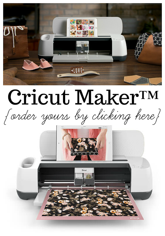 Order your Cricut Maker™ Machine right here! #cricut #cricutmaker #cricutmade