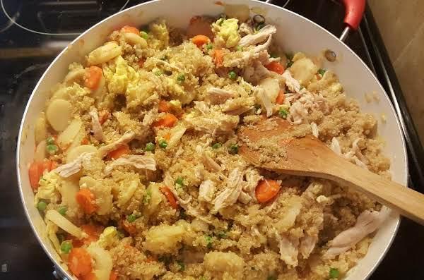 Chinese Fried Quinoa Recipe