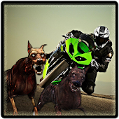 Zombie Escape : Bike Racing