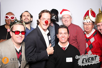 Photo: The men of Mercantile Capital  Corporation at the Old Florida National Bank Christmas party.  www.504Experts.com