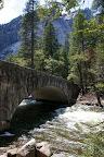 Stone bridge on the way to Vernal Falls.