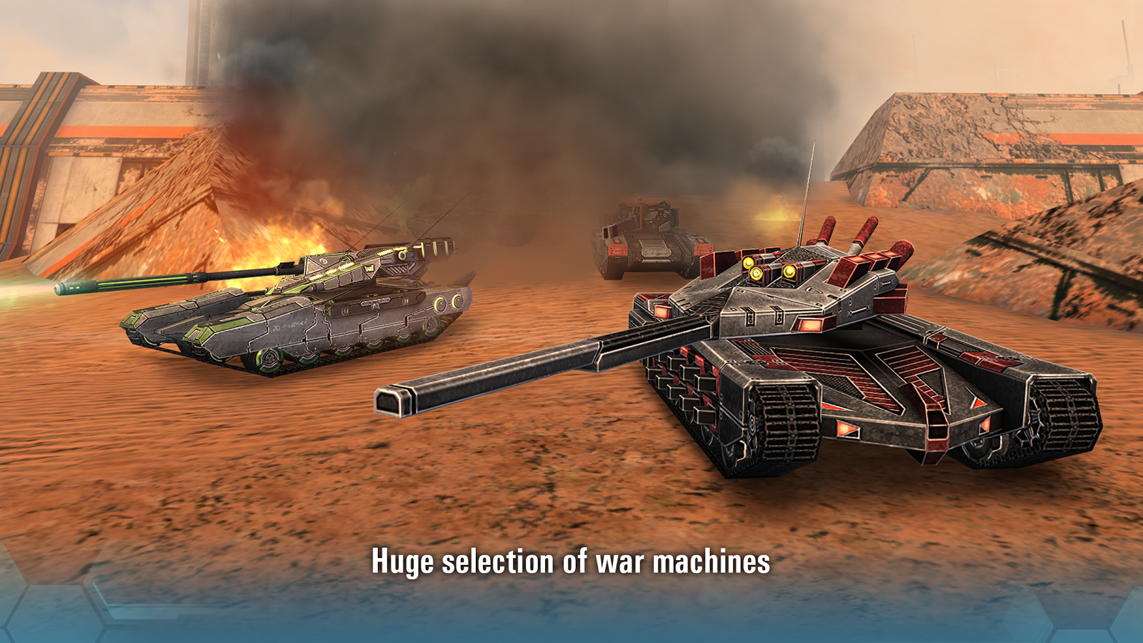 Future Tanks: Free Multiplayer Tank Shooting Games- screenshot