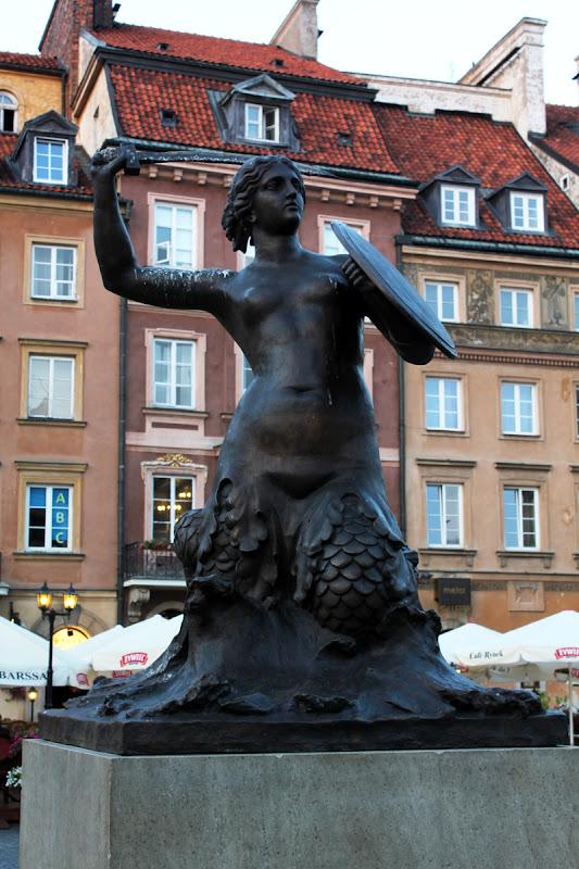 Monumento a la Sirena de Varsovia
