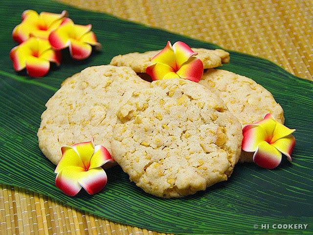 Cornflake-Macadamia Nut Cookies