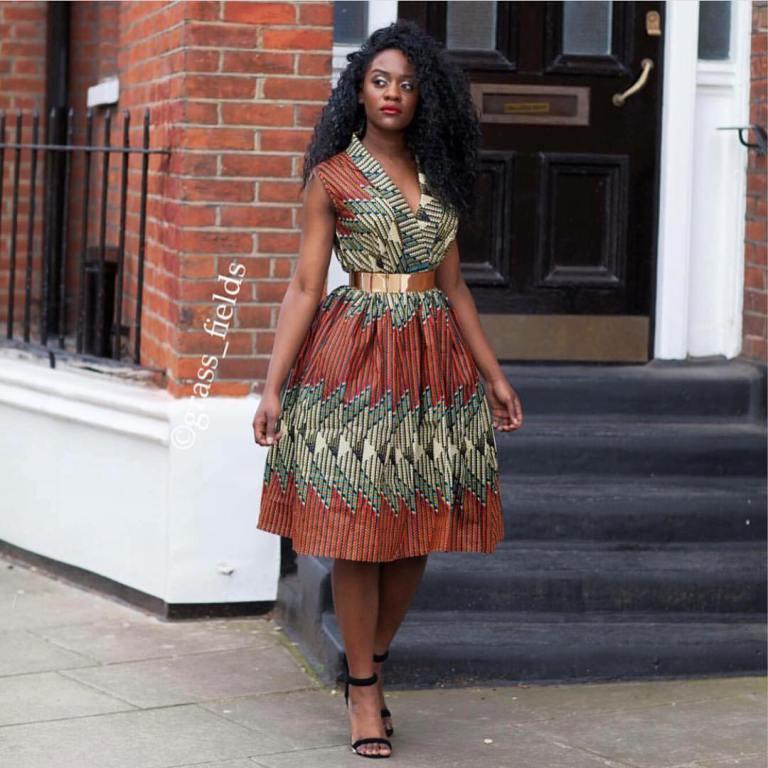 African Casual Kitenge Dresses Designs 2017 Fashion 2d