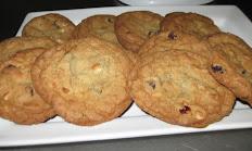 White Chocolate Cranberry Cookie For 6 (1/2 Dozen)